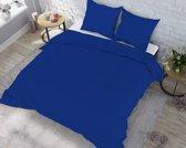 Dekbedovertrek Flanel Winter Warm Navy Blue Maat: Lits-jumeaux (240 x 220 cm + 2 kussenslopen)
