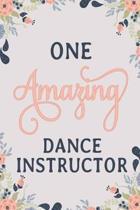 One Amazing Dance Instructor