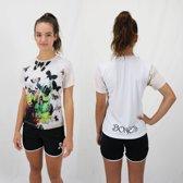 Bones Sportswear Dames T-Shirt Butterfly maat XL