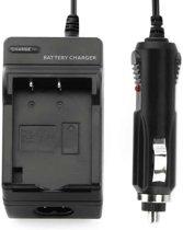 Digitale camera batterijlader voor OLYMPUS BLS1 (zwart)