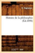 Histoire de la Philosophie (�d.1898)
