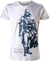 Assassin's Creed IV T-Shirt Wit Edward Maat XL