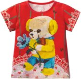 Tins T-shirt yellow bear
