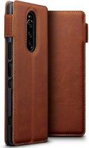 Sony Xperia 1 hoesje - CaseBoutique - Cognac - Leer
