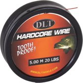 DLT Roofvis Staaldraad op Spoel + Sleeves - Onderlijnmateriaal
