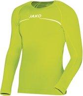 Jako Comfort LM  Sportshirt performance - Maat 140  - Unisex - groen