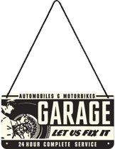 Nostalgic Art Metalen bord Hanging Garage