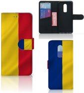 Bookstyle Case OnePlus 6 Roemenië