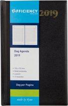 Ryam Bureau Agenda 2020 - 14x21 cm - Zwart - Dag per pagina