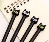 LeuksteWinkeltje Fineliner pen Kat zwart Zwart schrijvend, 0.5 mm - 1 stuks random met dop