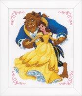 Vervaco Disney borduurpakket Beauty and the Beast borduren pn-0168067
