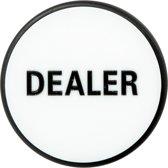 Dealerbutton Black - White