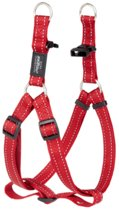 Rogz For Dogs Fanbelt Step-In Tuig - 20 mm x 53-76 cm - Rood