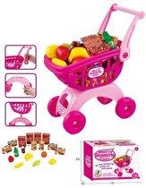 Mini Shopping Cart+Acc. 27Dlg.