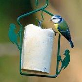 Pindacakehanger - Vogelvoederhuisje - Groen - 18 cm x 1 cm x 21 cm -  10 stuks