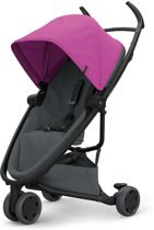 Quinny Zapp Flex Buggy - Pink on Graphite