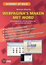 WEBPAGINA'S MAKEN MET WORD 2000