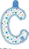 opblaasbare letter C multi color