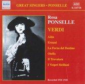 Great Singers - Ponselle - Verdi: Arias / Ponselle, Martinelli et al