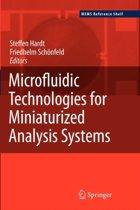 Microfluidic Technologies for Miniaturized Analysis Systems