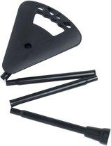 Flipstick wandelstok met zitje - opvouwbare wandelstok met zitje