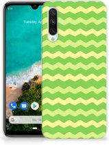 TPU bumper Xiaomi Mi A3 Waves Green