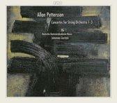 Pettersson: Concertos for String Orchestra 1-3 / Goritzki