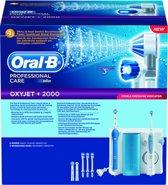 Oral-B ProfessionalCare 2000 + OxyJet Monddouche