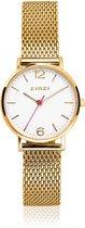 ZINZI horloge ZIW607M - Goudkleurig Lady 28mm + Gratis Zinzi Armbandje