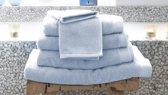 Heckett & Lane - Douchelaken - 70x140 cm - Set van 2 - Artic Ice