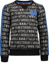 TYGO & vito Jongens Sweater - zwart - Maat 110/116