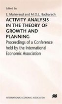 Activity Analysis in the Theory of Growth and Planning