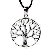 Hanger Tree of Life sterling zilver - 2.8 cm - 3.7 g - L