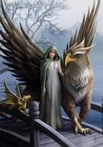 Anne Stokes Wenskaart Realm Of Tranquility