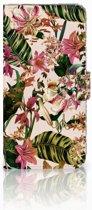 Google Pixel XL Uniek Boekhoesje Flowers