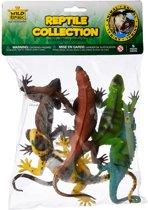 Wild Republic - 5 Plastic Reptielen