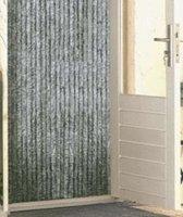 Vliegengordijn pluche kattenstaart - 90 x 200 cm -