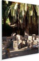 Romeinse begraafplaats bij Carthago in Tunesië Plexiglas 120x180 cm - Foto print op Glas (Plexiglas wanddecoratie) XXL / Groot formaat!