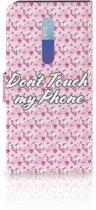 Xiaomi Redmi K20 Pro Portemonnee Hoesje Flowers Pink DTMP