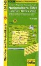 Nationalpark Eifel, Rureifel, Hohes Venn Wander- und Freizeitkarte 1 : 50 000