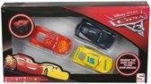 Disney Pixar Cars Gummen set met Harde Buitenkant 6x3x2 cm – Rood Bruin Geel |Kindergummen |Tekenspullen | Schoolspullen