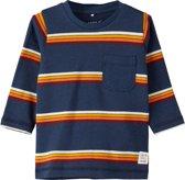 Name it Jongens T-shirt - Dark Sapphire - Maat 56