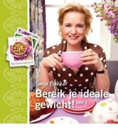 Boek cover Bereik je ideale gewicht! deel 2 van Sonja Bakker (Paperback)