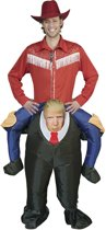 Opblaasbaar kostuum  - Verkeeldkleding -  Trump