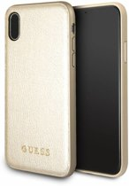 Guess Backcover voor Apple iPhone X / Xs - Goud