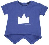 Bellybutton T-shirt Kroon Blauw - Maat 62