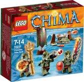 LEGO Chima Krokdillenstam Vaandel - 70231