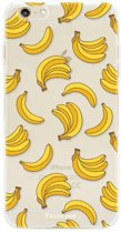 Iphone 6 / 6S - TPU Soft Case - Back Cover telefoonhoesje - Bananen