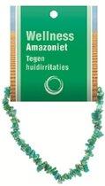 Splitarmband Amazoniet - met Uitleg Kaartje