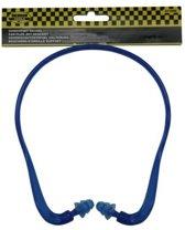 Benson U-beugel oordoppen, SNR 21 dB - Blauw